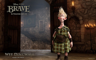 Brave 2012 Character Wee Dingwall HD Desktop Wallpaper