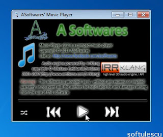 A Software's Music Player