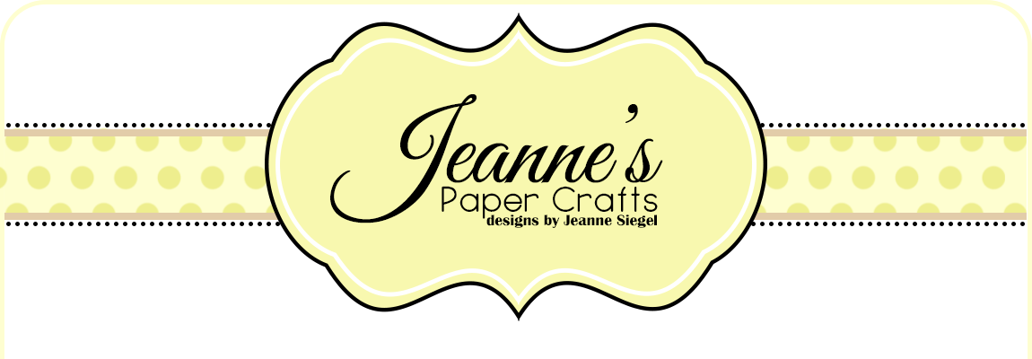 Jeanne&#39;s Paper Crafts