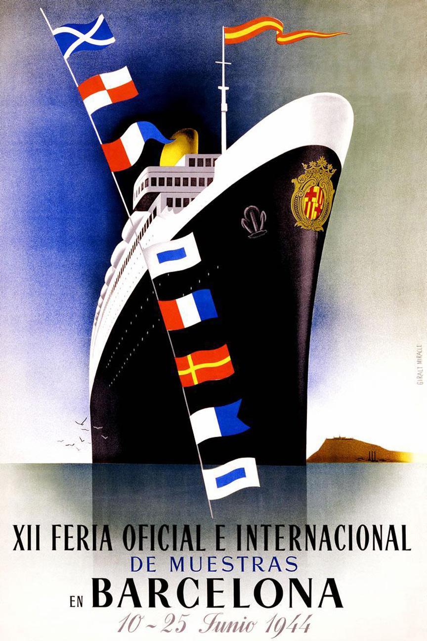 XII Feria Oficial e Internacional de Muestras en Barcelona (1944)