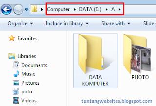 mengembalikan file,folder yang terhapus pada komputer
