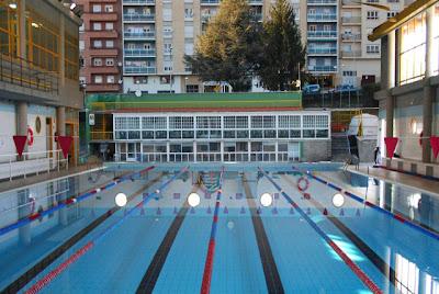 Primeros trabajos realizados en las piscinas climatizadas de Lso Praos
