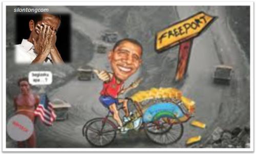 Jokowi Perpanjang Kontrak Freeport Dengan Cara Licik dan Gaya Pengkhianat