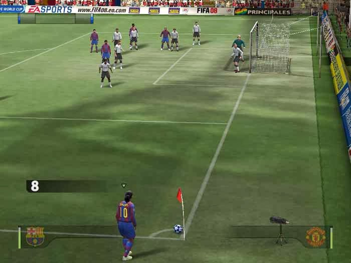 FIFA 2008 Screen Shots, Wallpapers