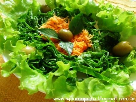 Salada fácil de fazer.