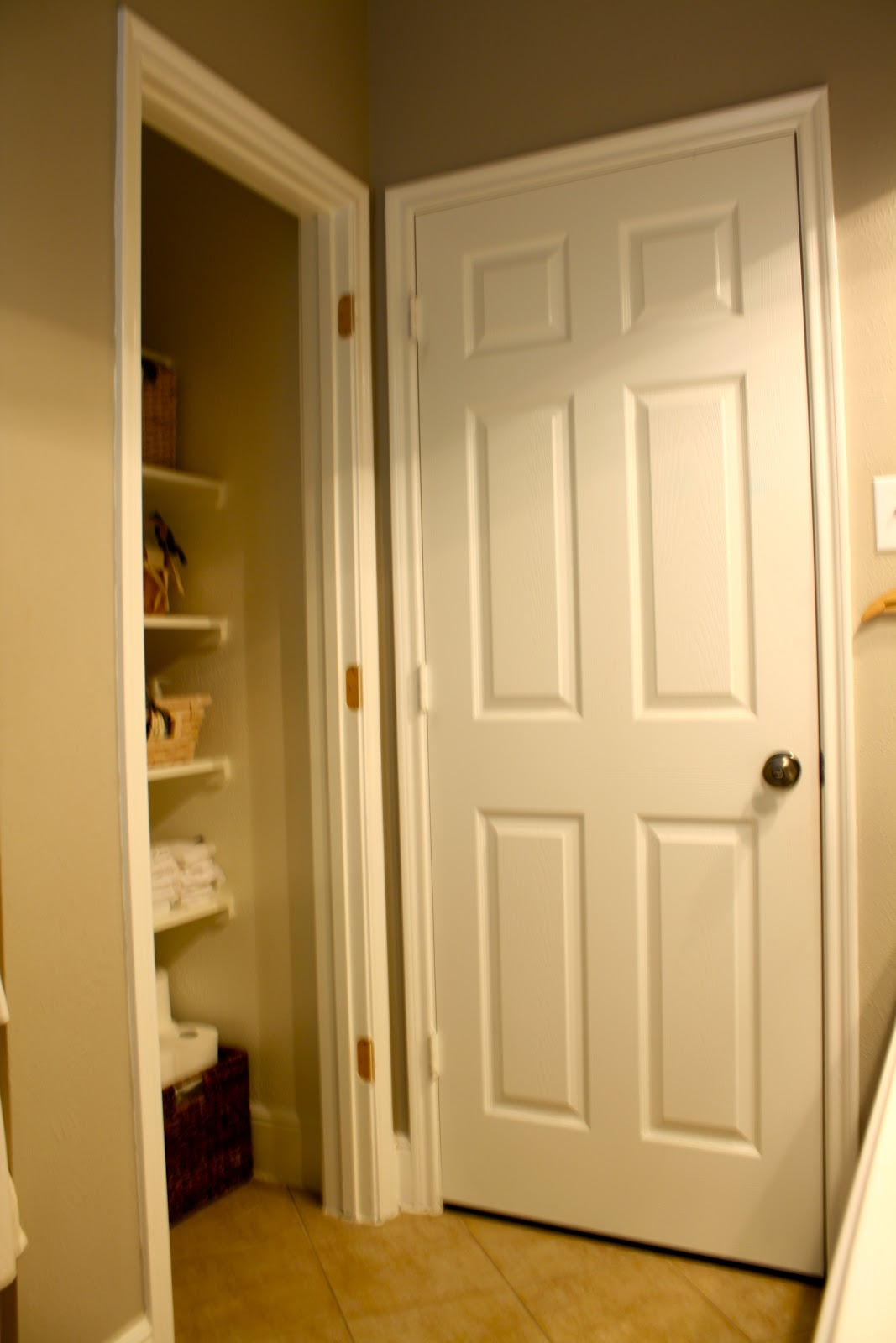 The Little Cottage Pond Turning Closet Into Open Shelving