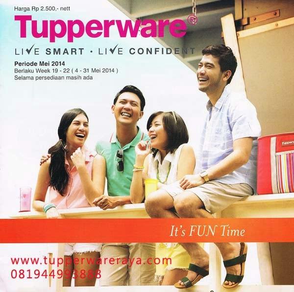 Katalog Promo Tupperware Mei 2014