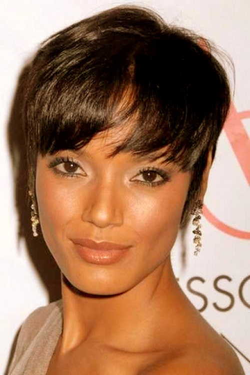 Crop Hairstyles for African American Women