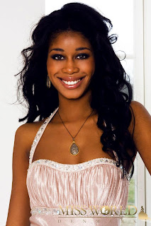 Miss World Denmark 2012 Bintu Sonko