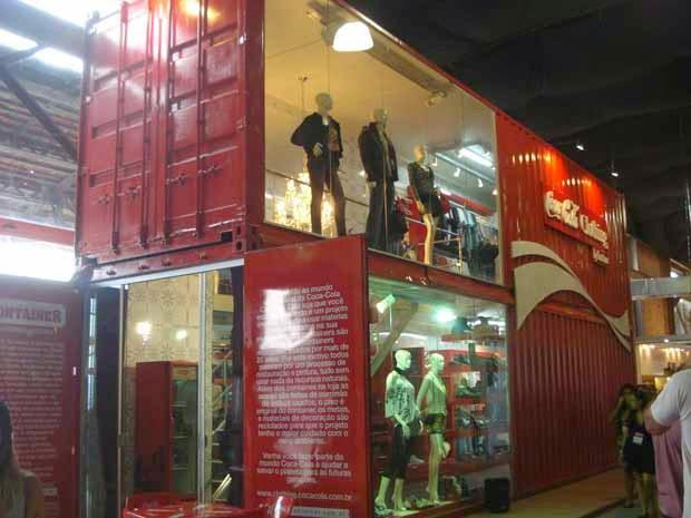 Contenedores Reciclados y Convertidos en Tiendas