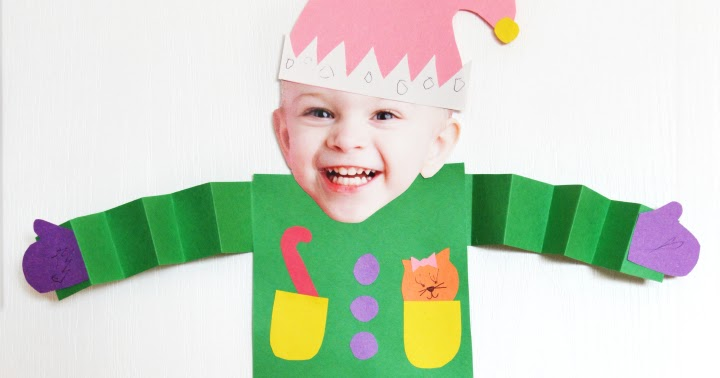 Diy elf kids craft artsy fartsy mama for Elf shelf craft show
