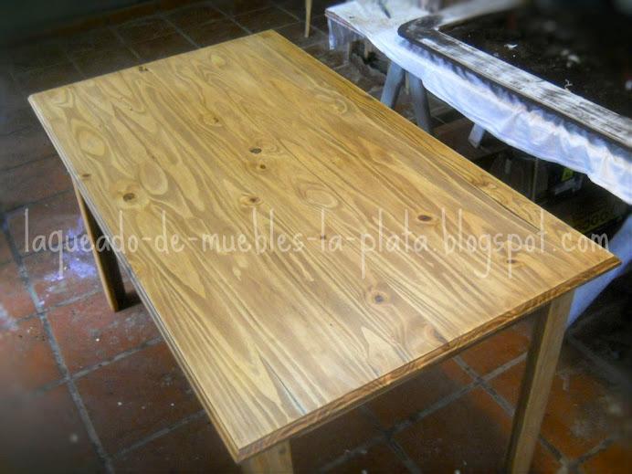 Encantador Muebles De Pino De Cera Cresta - Muebles Para Ideas de ...
