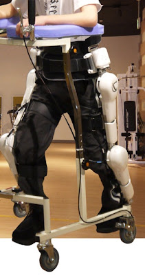 ironman like robotic suite from Japanese robotics company