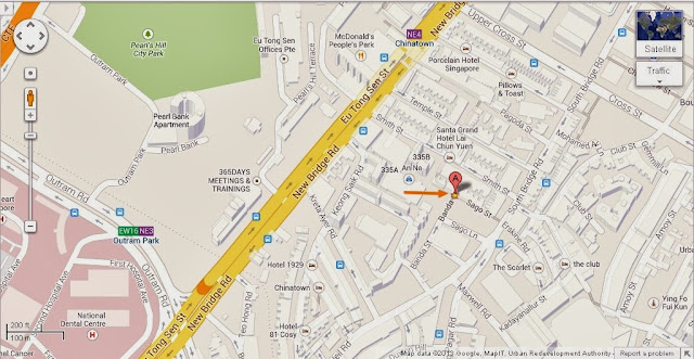 Detail Sago Street Singapore Location Map Alexandra Meier