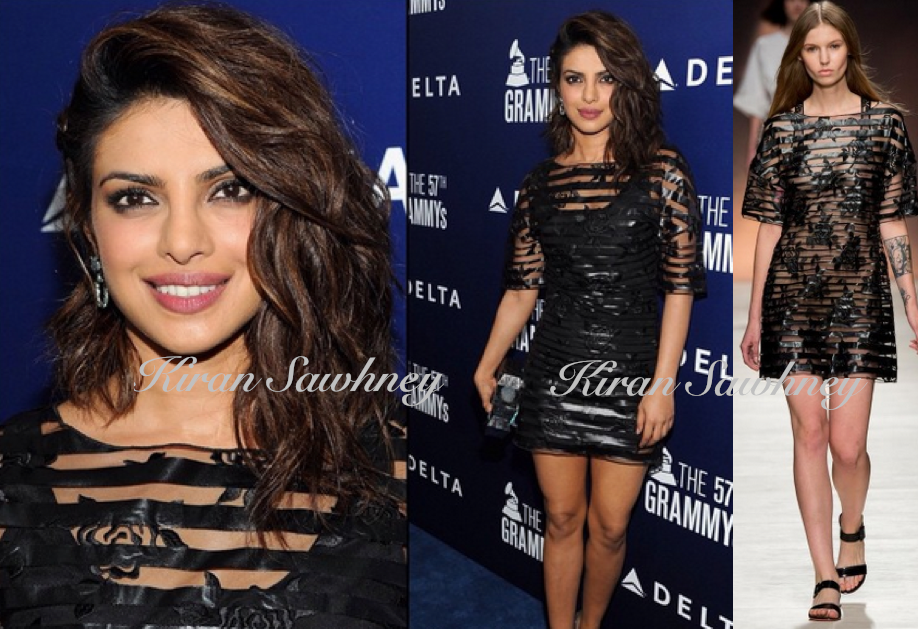 Priyanka Chopra arrives on Red carpet of pre Grammy event