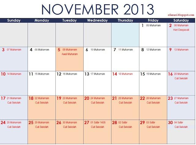 untuk perhatian, cuti umum dalam kalendar di atas lebih dirujuk untuk