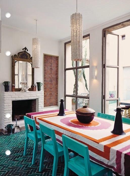 تصميمات رائعه لغرف المعيشه المغربيه  Exquisite-moroccan-dining-room-designs-19