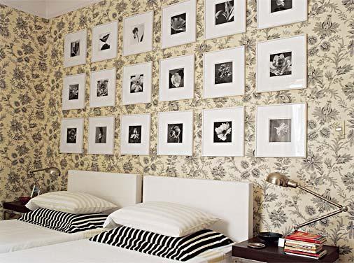 decoracao quarto papel de parede