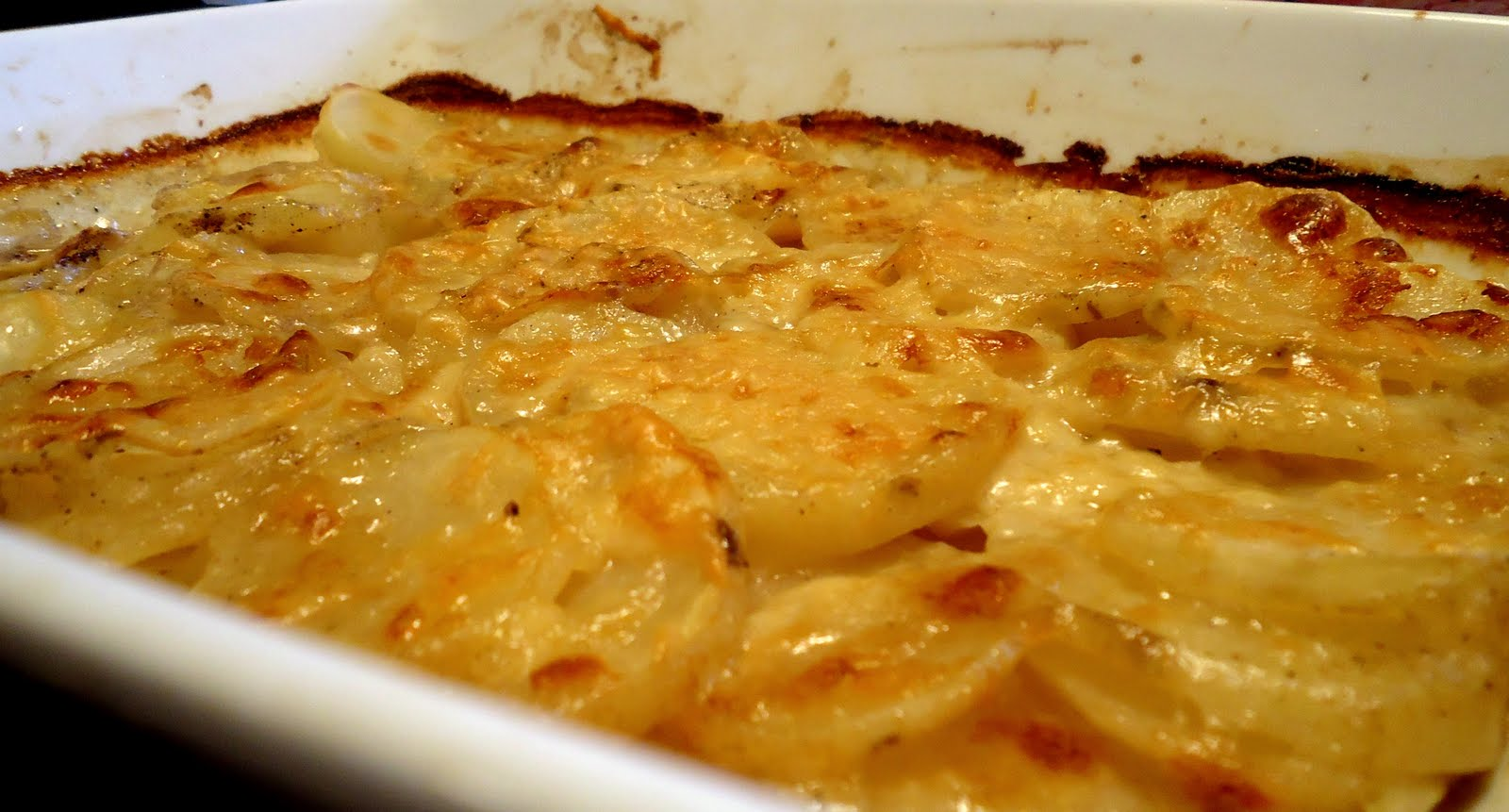 Still Lucky: Simple Scalloped Potatoes