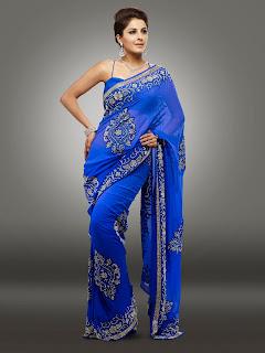 Actress Isha Talwar hot Saree Photos