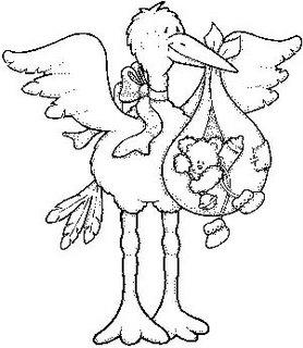 Riscos De Beb  S Patchwork Embutido Desenho Pintura Cegonha