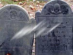 Salem MA tombstones