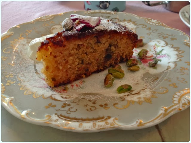 Thru the Lookin' Glass, Wheelton - Lime and Pistachio Cake