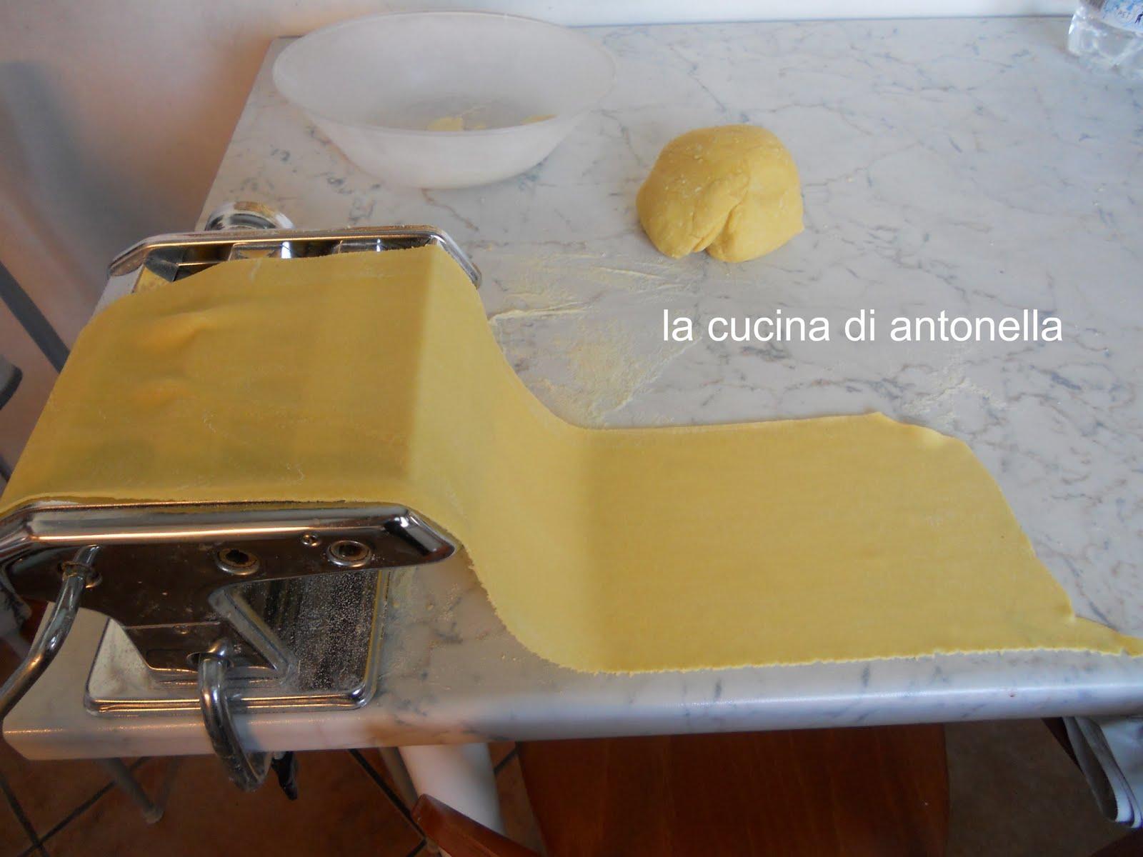La cucina di antonella lasagne fatte in casa con il pesto - La cucina di antonella ...