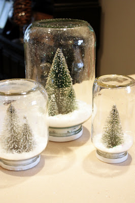 christmas tree snowglobes