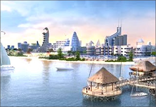 Dubai Waterfront Project from Nakheel