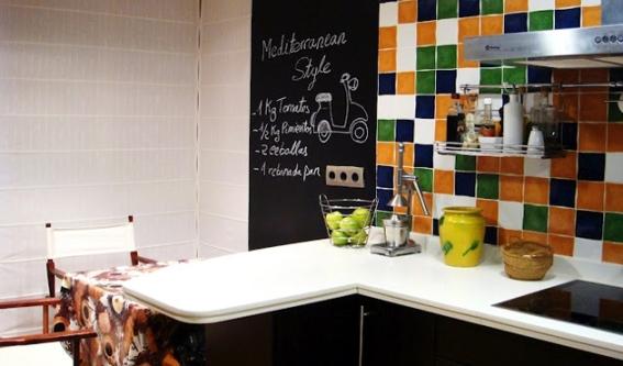 Papan Tulis Modern Untuk di Dapur  Ide Renovasi Dapur