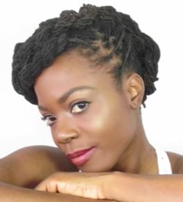 Summer twisted updo lock hairstyle tutorial
