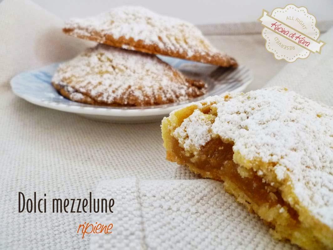 Top Mezzelune di pasta frolla ripiene di marmellata   Kucina di Kiara PC36
