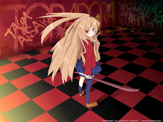 Taiga Aisaka Toradora Girls Anime HD Wallpaper Desktop PC Background 1772