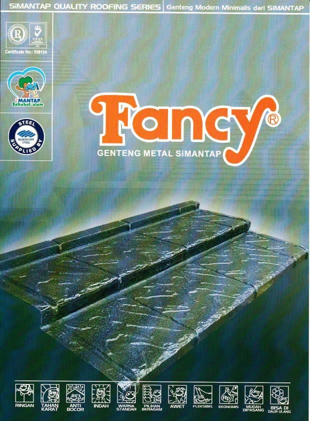 ... , Engineer,Baja ringan, Plafon): SPESIFIKASI ATAP GENTENG METAL FANCY