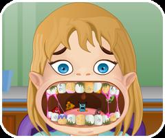 Game Bac Si - Chơi game làm bác sĩ nha khoa nhổ răng