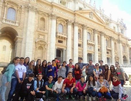 Viaxe a Roma 2014