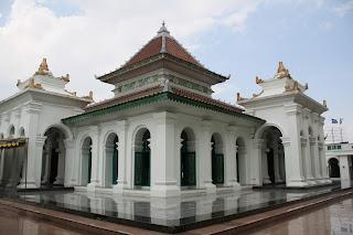 Pariwisata palembang Indonesia - Masjid Agung Palembang