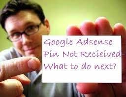 Pin google adsense tidak datang dan belum diterima untuk verifikasi