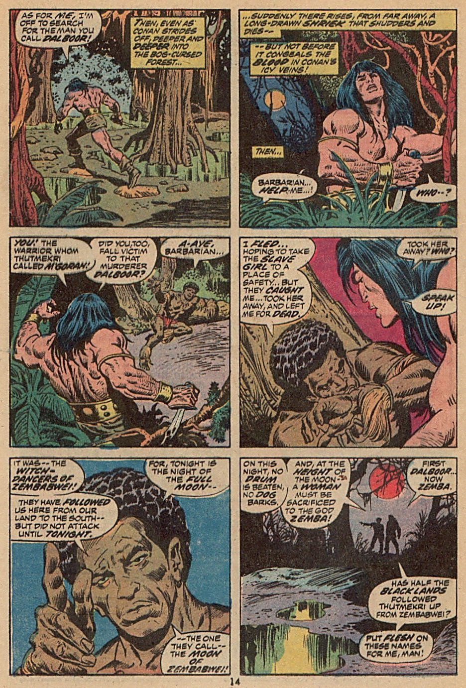 Conan the Barbarian (1970) Issue #28 #40 - English 11
