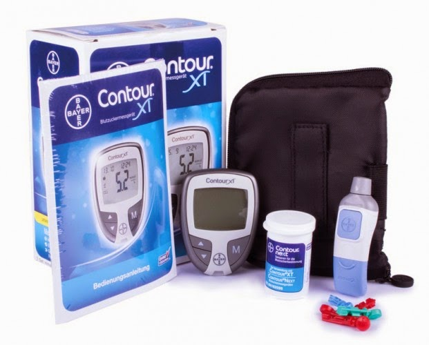 Bayer Contour XT análise diabetes