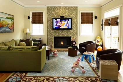 Decorating Design Ideas Living Rooms for Kids
