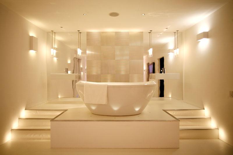 Iluminacion Del Baño:Muebles y Decoración de Interiores: Iluminación Moderna del Baño