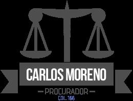 Procurador en Zaragoza · 680 81 21 80 · CARLOS MORENO PUEYO