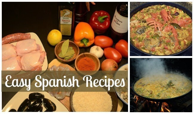 Easy Spanish Recipes | Becky Cooks Lightly #Spanish