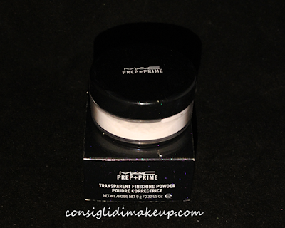 Review: Prep+Prime Transparent Finishing Powder - Mac Cosmetics