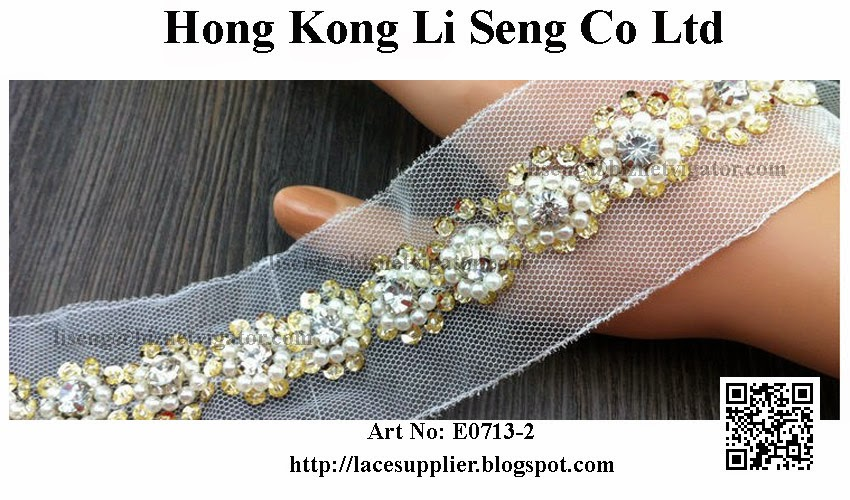 Beading Lace Trimming Manufacturer  For All Kind Textile Product