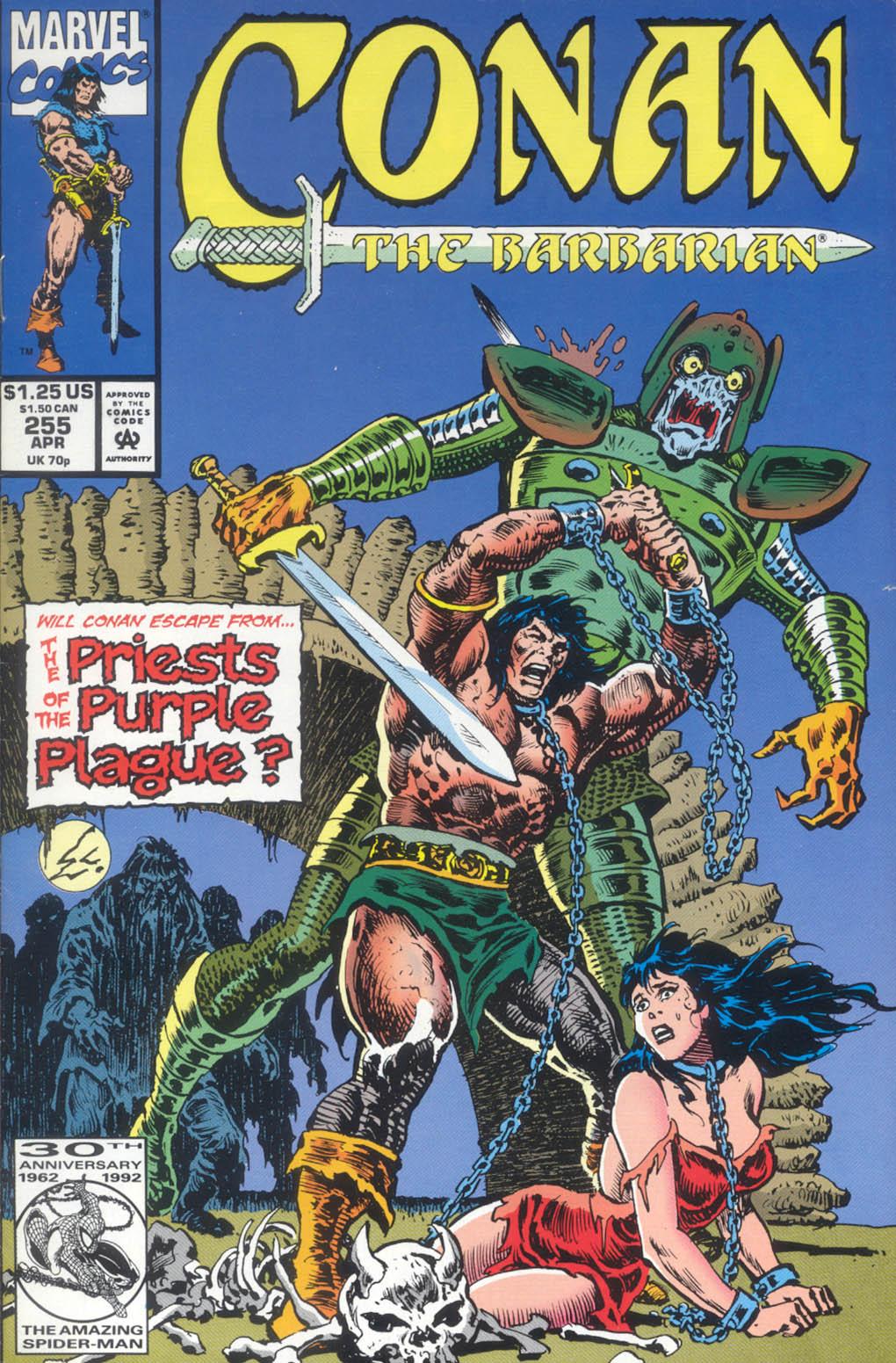 Conan the Barbarian (1970) Issue #255 #267 - English 1
