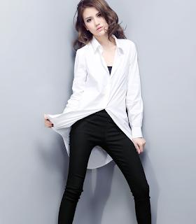 Kemeja Cewek Model Korea