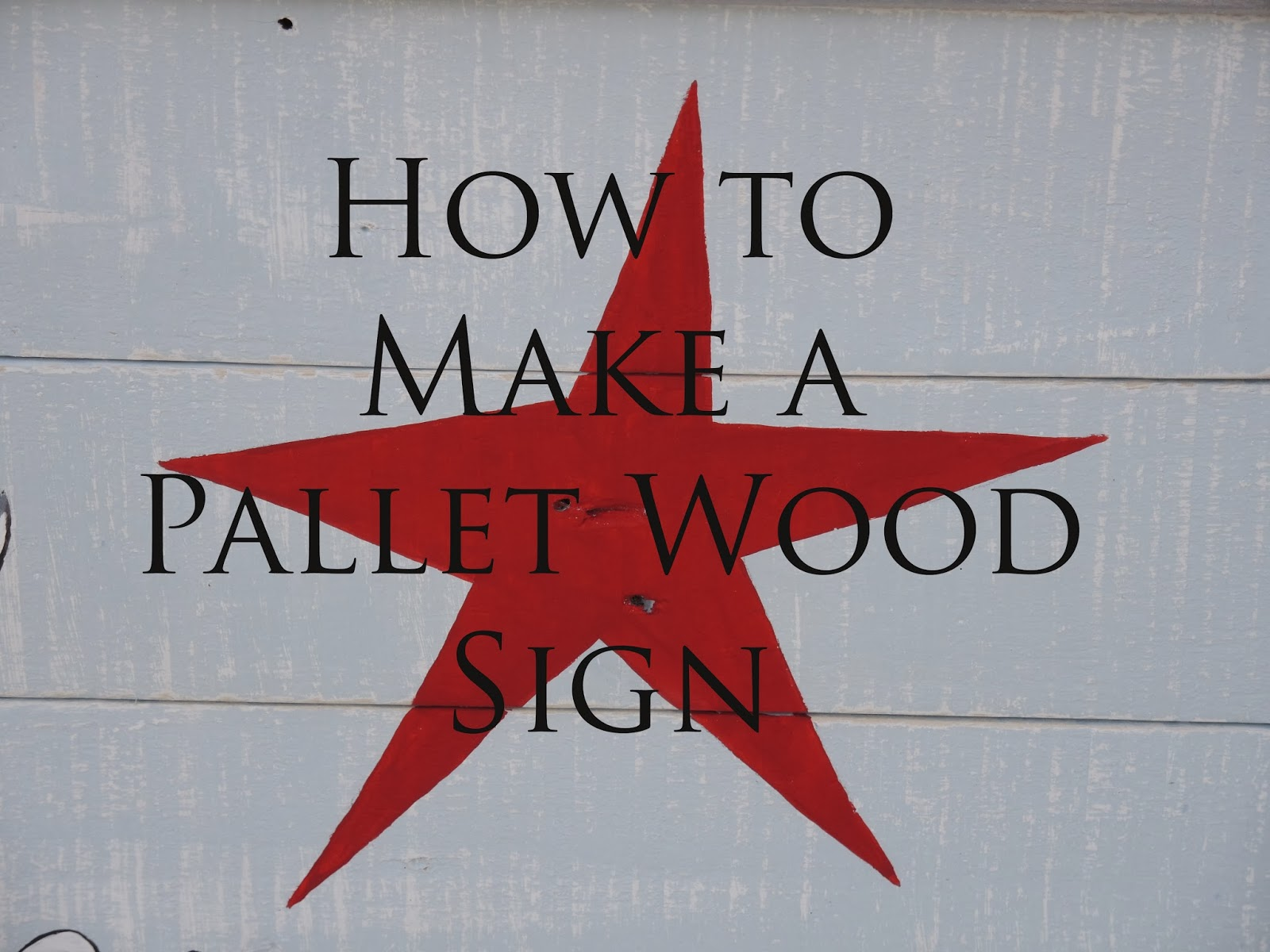 how to make a pallet wood signfor christmas